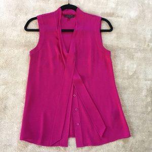 Rachel Zoe Silk Pink Blouse size 2